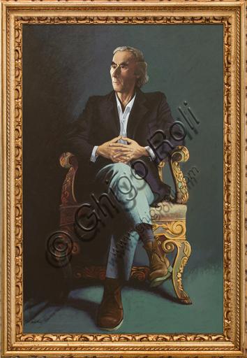 """Alberto Cavallari: """"Autoritratto""""."""