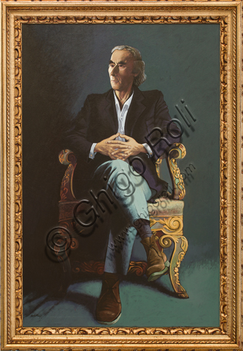 "Alberto Cavallari: ""Self Portrait""."