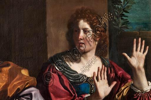 """Modena, Galleria Estense: """"Ammone scaccia Tamar"""", del Guercino (Giovanni Francesco Barbieri, 1591-1666)."""