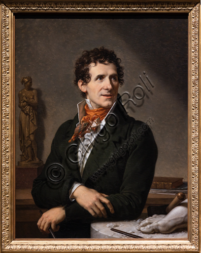 """Antonio Canova"", 1812, by François - Xavier Fabre (1776 - 1837), oil on canvas."