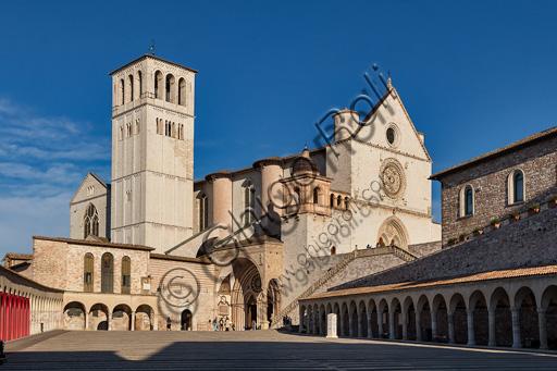 Assisi: Basilica of St. Francis.