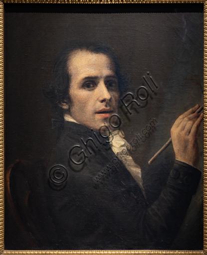 """""""Autoritratto"""", 1792, di Antonio Canova (1757 - 1822), olio su tela."""