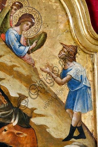 Belgrade, National Museum of Serbia: Paolo and/or Lorenzo Veneziano,  Nativity scene.