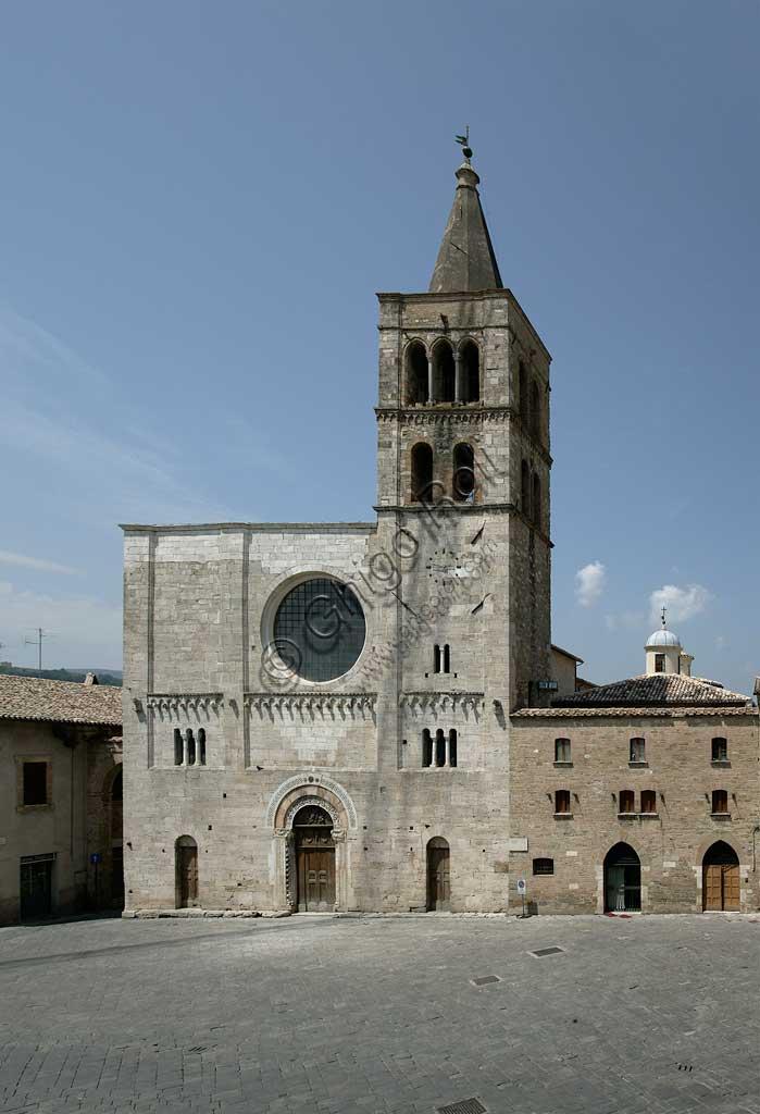 Bevagna: the Church of St. Miachael Archangel.