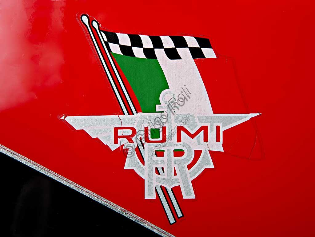 Ancient Motorbike Rumi Junior 125. Trademark.