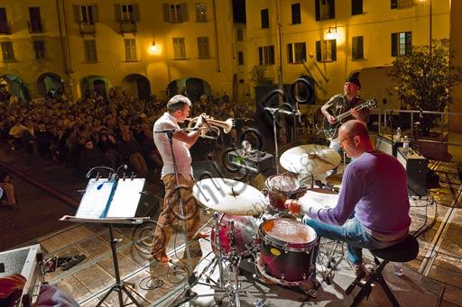 Bobbio, Piazza Duomo: concerto serale di Paolo Fresu.