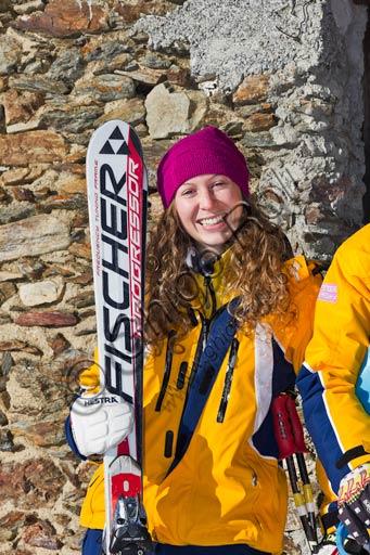 """Bormio 2000, Italian Ski School """"Gallo Cedrone"""": ski teacher."""