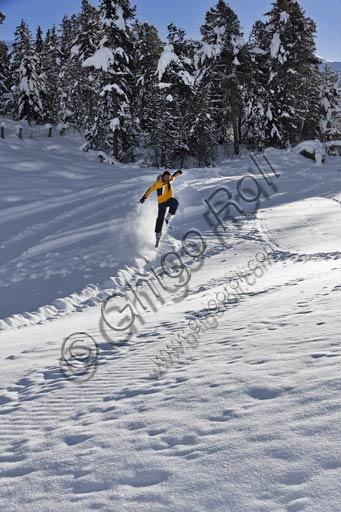 "Bormio 2000, Italian Ski School ""Gallo Cedrone"": snowboard teacher."