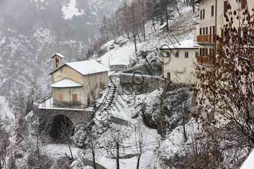 "Bormio, Spa: the thermal baths ""Bagni Vecchi"""