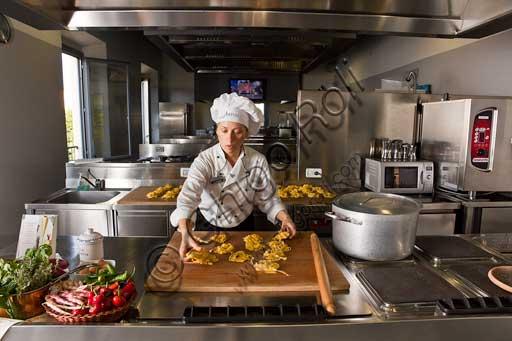 Casa Artusi: Carla Brigliadori, direttrice della scuola di cucina.