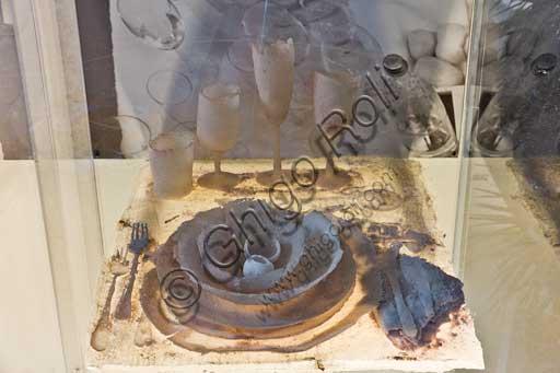"""Casa Artusi, interno: """"Cenae 7"""" opera dell'artista Joan Crous."""