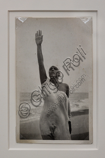 """""""White Lady with Raised Arm"""", bromide silver gelatine by Marcello Dudovich,  1920-30."""