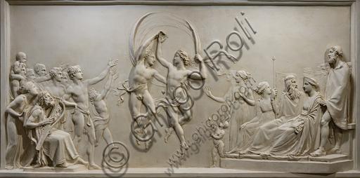 """Dance of Alcinous' Children "", 1790-2,  by Antonio Canova (1757 - 1822), plaster. Detail."