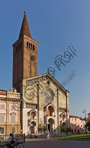 Duomo: la facciata.