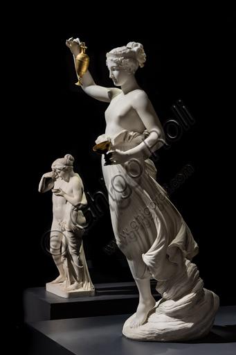 """""""Ebe"""", 1800-5, di Antonio Canova (1757 - 1822), marmo."""