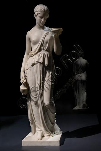 """Ebe"", 1819, di Bertel Thorvaldsen (1770 - 1844), marmo."