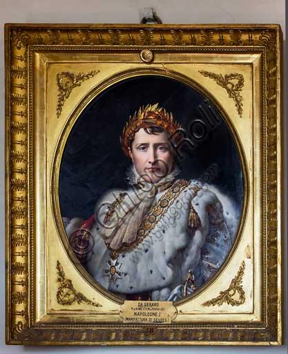 Firenze, Giardini di Boboli, Giardino del Cavaliere, Museo delle Porcellane (ex Casino del Cavaliere): ritratto di Napoleone I, da Gerard.