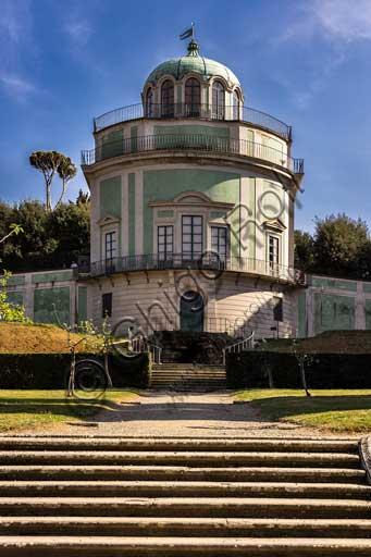 Firenze, Giardini di Boboli: Kaffeehaus, padiglione rococò realizzato nel 1776 da Zanobi del Rosso.