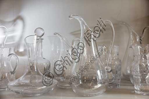 Firenze, Moleria Locchi: oggetti in vetro e cristallo.