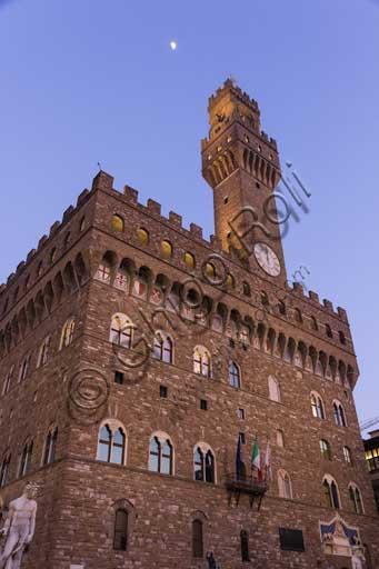 Firenze, Piazza della Signoria: Palazzo Vecchio.