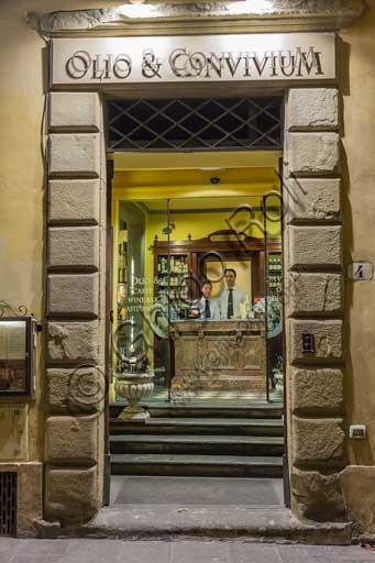Firenze, Ristorante Olio & Convivium: ingresso.