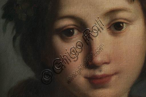 """Modena, Galleria Estense: """"Flora"""", di Carlo Cignani (1628-1719). Particolare."""