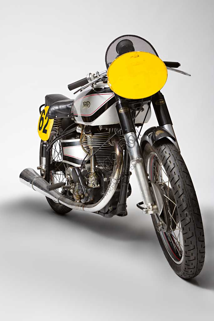 Ancient Motorbike Norton Manx GP 500