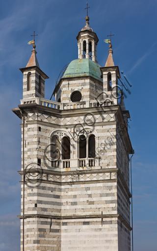 Genova, Duomo (Cattedrale di S. Lorenzo):  il campanile.