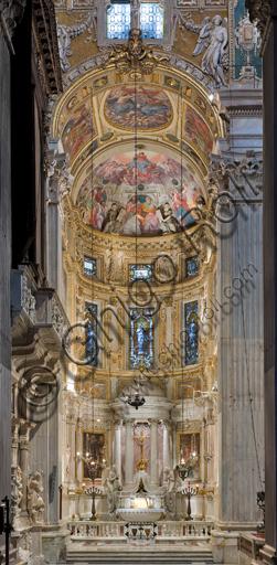 Genova, Duomo (Cattedrale di S. Lorenzo), interno, Cappella Lercari o del Santissimo Sacramento (abside settentrionale): veduta generale.