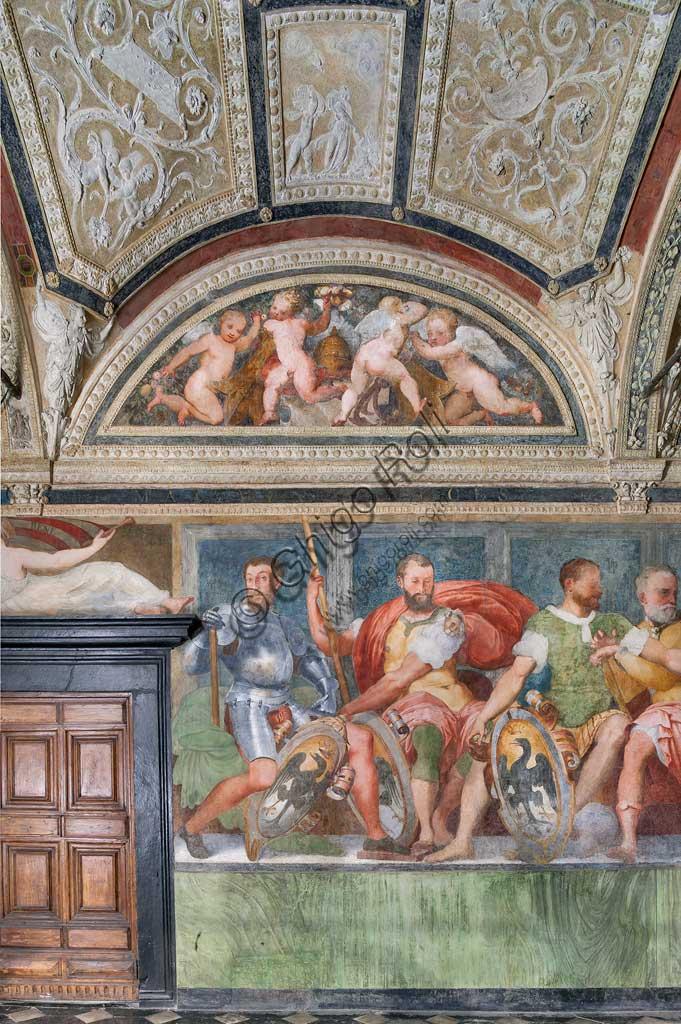Genova, Villa del Principe (Palazzo di Andrea Doria), Loggia degli Eroi: antenati di Andrea Doria. Affreschi di Perin del Vaga (Pietro Bonaccorsi), 1529 - 1532.
