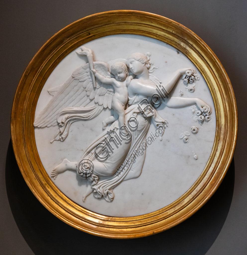"Brescia, Pinacoteca Tosio Martinengo: ""Day"", di Bertel Thorvaldsen, 1821. Marble."