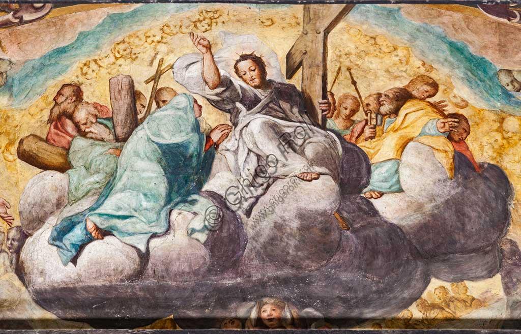 """Basilica of St Prospero, the apse: """"Finale Judgement"""", fresco by Camillo Procaccini  (1585 - 1587). Detail."""