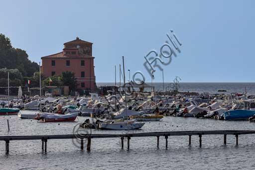 The Baratti Gulf: view of the small port.