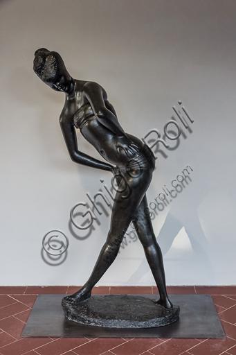 """Museo Novecento: """"Grande bagnante N 3"""", di Emilio Greco, 1957. Bronzo."""
