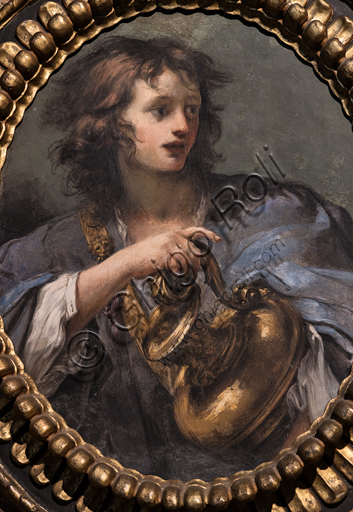 "Baldassarre Franceschini, known as Volterrano: ""Hylas and the Golden Vase"", detached fresco, half XVII century."