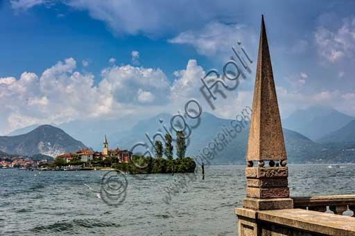 Isola Pescatori: veduta dell'isola.