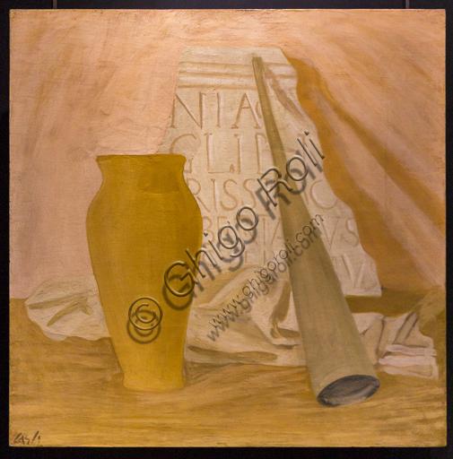 """Museo Novecento: """"L'Angelica"""", di Corrado Cagli, 1933. Tempera a cera su tavola"""