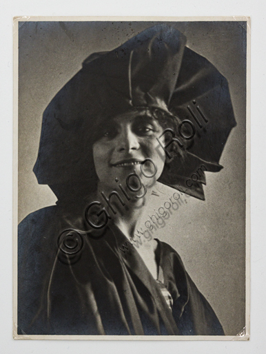 """""""The actress Maria Melato"""", bromide silver gelatine by Marcello Dudovich."""