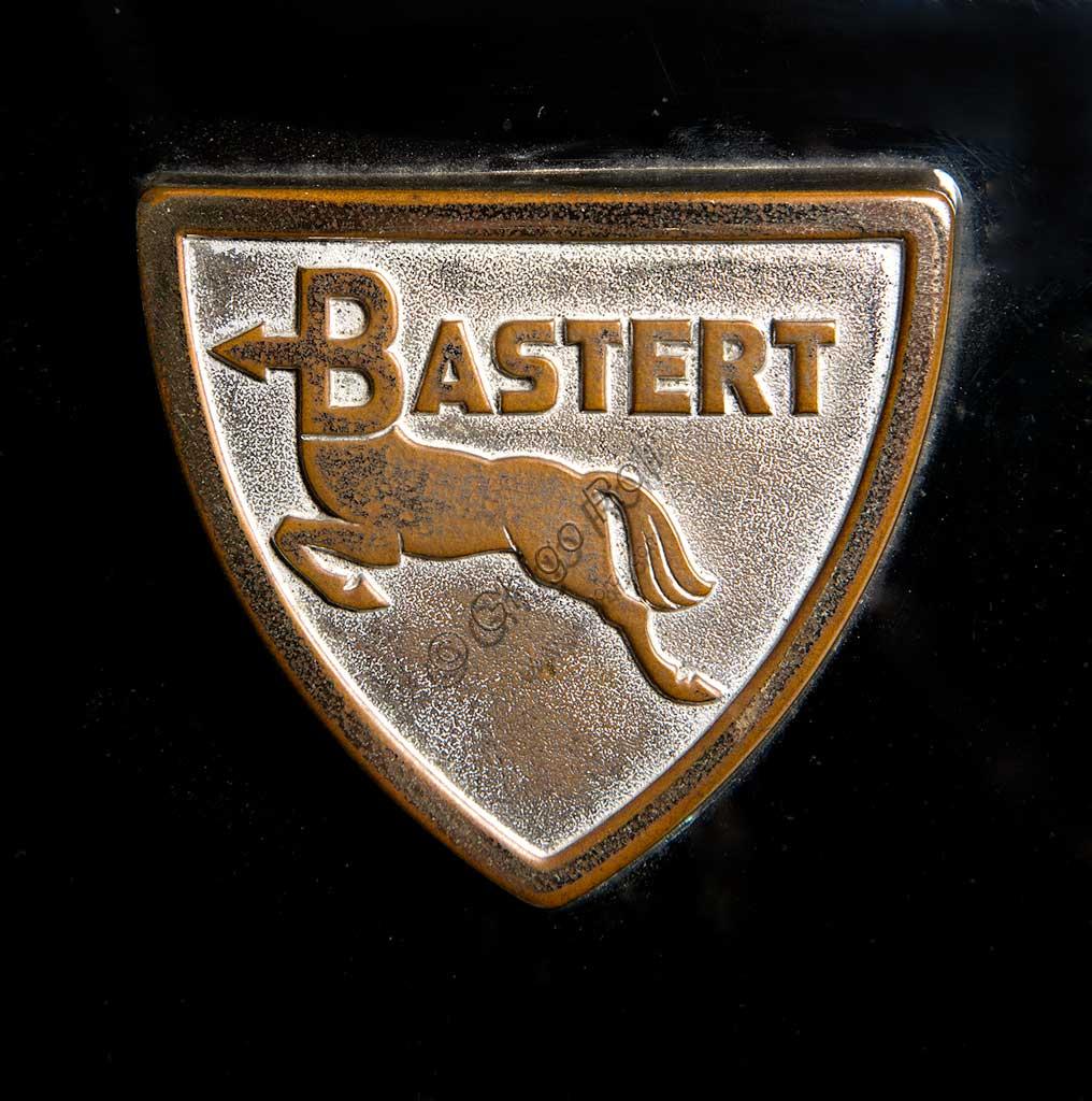 Ancient Motorbike Bastert Einspurauto 175. Scooter. Trademark.