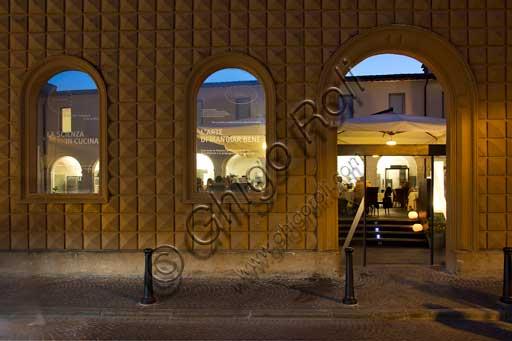 L'esterno di Casa Artusi, museo vivo di storia e scuola di cucina, ricavato nell'antico convento dei Servi.