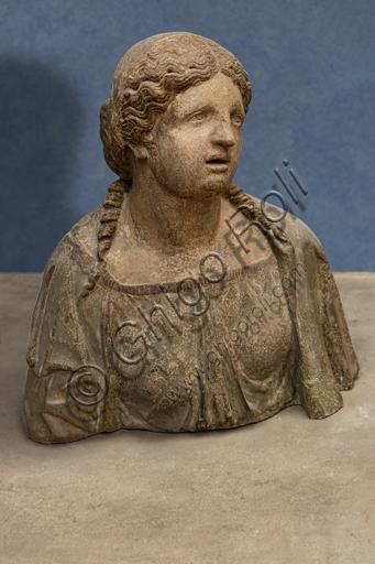 "Tullio Lombardo or Antonio Minello da Padova: ""Magdalene"", beginning XVI century, terracotta."