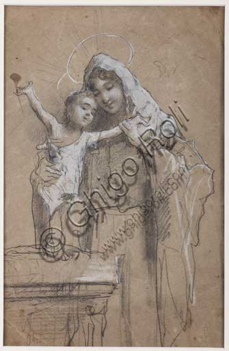"Assicoop - Unipol Collection: Unknown artist, ""Madonna and Infant Jesus""."
