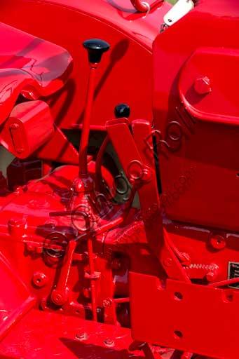 Old Tractor. Detail.Make: PorscheModel: JuniorYear: 1962Fuel: Diesel oilNumber of Cylinders: 1Displacement: 1.600 ccHorse Power: 15 HPCharacteristics: