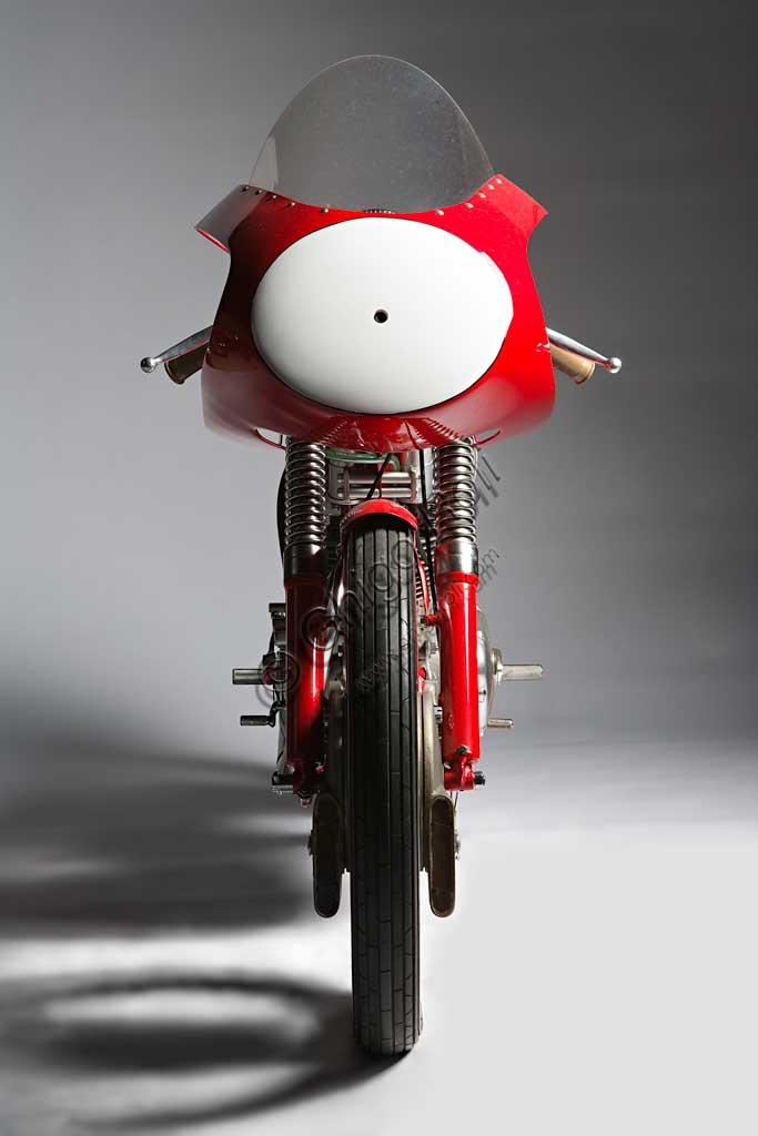 Ancient Motorbike Ducati 125 Bialbero Gran Premio
