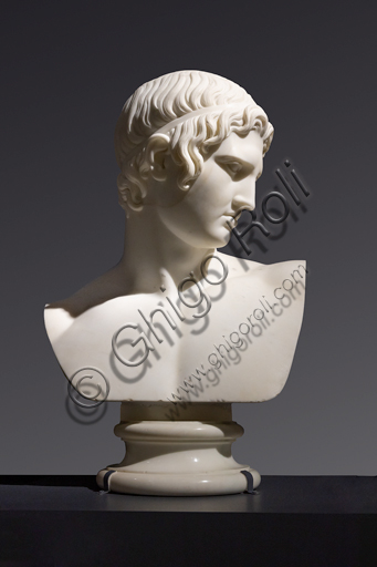 """Marte pacificatore"", 1808-09, di Bertel Thorvaldsen (1770 - 1844), marmo di Carrara."
