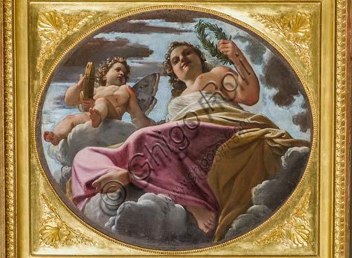 """Modena, Galleria Estense: """"Flora"""", di Ludovico Carracci (1555-1619)."""