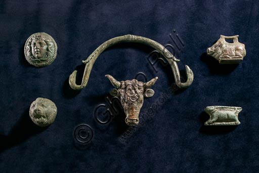 Modena, Museo Civico Archeologico Etnologico: Bronzetti romani da varie località del territorio modenese. Età imperiale.