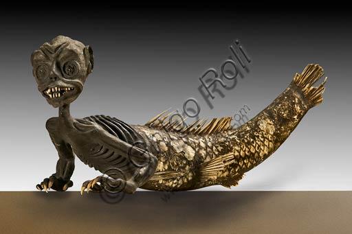 Modena, Museo Civico Archeologico Etnologico: sirena (ibrido artificiale realizzato nella prima metà dell'Ottocento. Venne donata al Museo nel 1875 dal Marchese Pietro Sghedoni).
