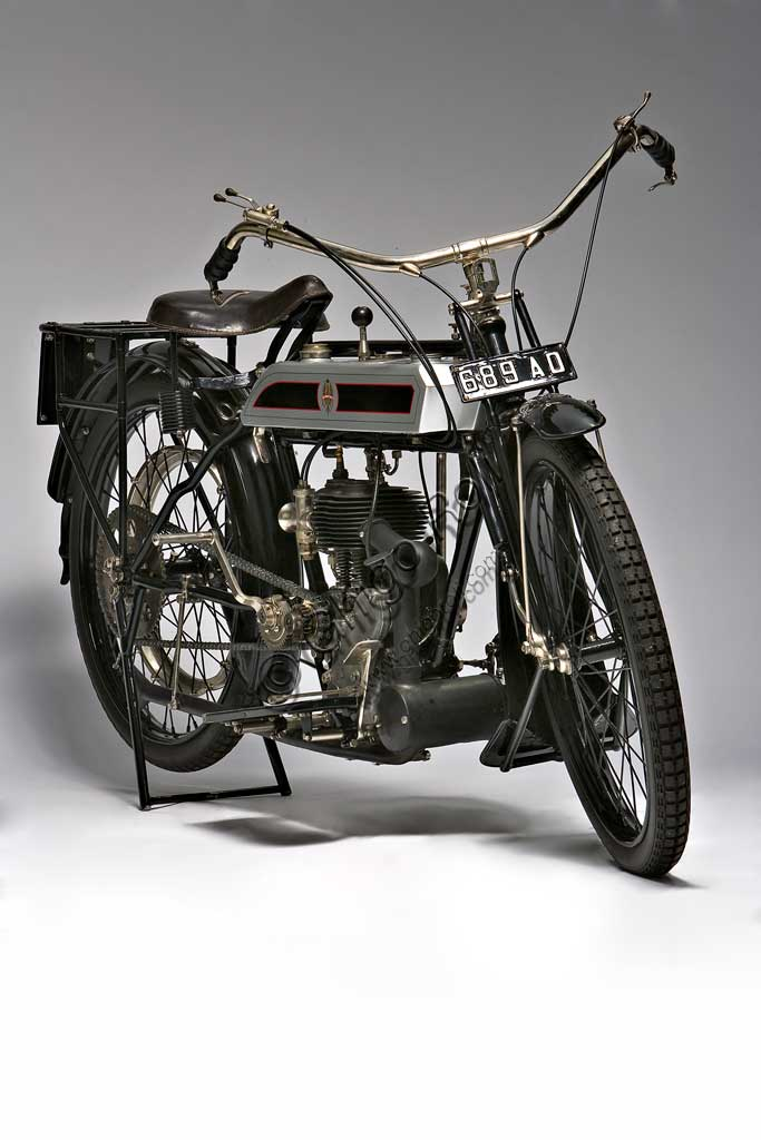 Ancient Motorbike Bianchi C 75 A