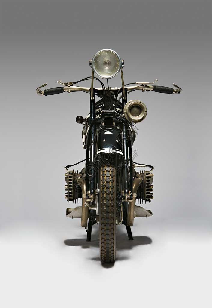 Ancient Motorbike BMW R42